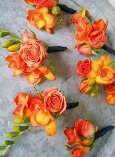 Fall Wedding Boutonnieres for Every Groom / http://www.himisspuff.com/fall-wedding-boutonnieres-for-every-groom/8/