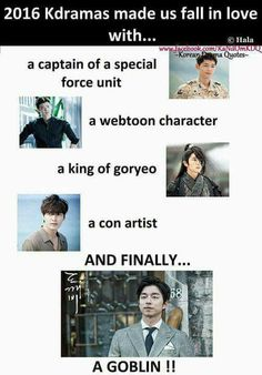 bt i definetly fell in love with a captain of special force unit.and webtoon character.and con artist. Korean Drama Funny, Korean Drama Quotes, Korean Celebrities, Korean Actors, Korean Dramas, Goblin Korean Drama, Drama Fever, W Two Worlds, Kdrama Memes