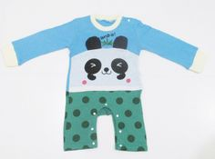 (BBK-P) Baju Bayi Karakter Panda - JUAL Baju Bayi | Jumper Bayi | Perlengkapan Bayi | Stroller Bayi
