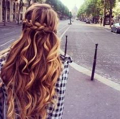 Balayage Highlight Ideas for 2020 15 Balayage Hair Color Ideas with Blonde Highlights French Braid Hairstyles, Pretty Hairstyles, French Braids, Hairstyles Haircuts, Fashion Hairstyles, French Fishtail, Ladies Hairstyles, Curly Haircuts, Fringe Hairstyles