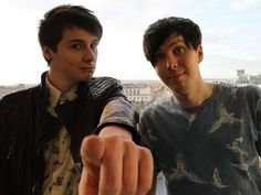 Dan and Phil. Omg I love this picture so much
