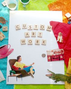 Order a custom, hand-made collage!