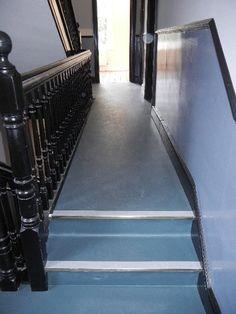 Marmoleum corridor