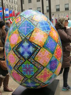 The Fabergé Big Egg Hunt, New York City (April 1 through 25, 2014). April 18, 2014.