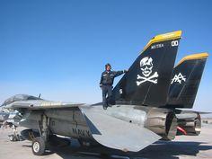 VF-103 Jolly Rogers, F-14 Tomcat.