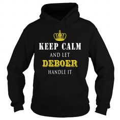 I Love  KEEP CALM AND LET DEBOER HANDLE IT T shirts