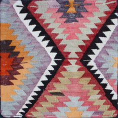 I love the aztec inspired area rugs!