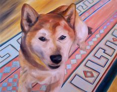 Custom Pet Portraits Oil Painting by GinaDavisDesigns on Etsy, $100.00