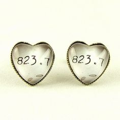 Jane Austen Stud Earrings - Melvil Decimal System - I feel these would be incredibly awesome for the future profession of choice. Library Classification, Heart Earrings, Stud Earrings, Dewey Decimal System, Literary Gifts, Book Jewelry, Book Lovers Gifts, Jane Austen, Go Shopping