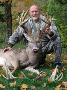 24 Point, 196 - inch Ohio Buck tagged on opening day.  Thats what preparation and scouting can do for you.