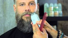 How to Trim a Beard by Daniel Alfonso featuring Roy Oraschin Tips for grooming bossman's beard