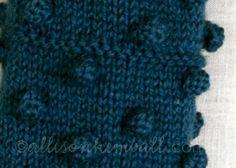 bobble stitch knit - Pesquisa do Google