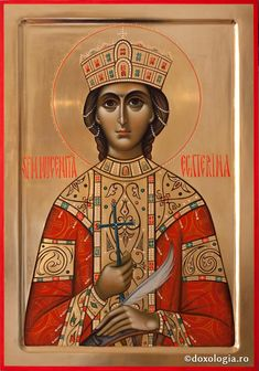 Sfânta Mare Muceniță Ecaterina | Doxologia