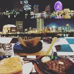 Instagram【yosikazusakata】さんの写真をピンしています。 《夜はせっかくなのでみなとみらいを歩きながらお店を探してご飯ヽ(*´∀`)ノ コロナリータなる斬新なカクテル( *˙ω˙*)و グッ! コロナ好きにはたまりませんねーヽ(*´∀`)ノ と、リブロースステーキ! 肉!肉!肉!! 美味かったー(๑•ω•๑)♡ 夜景も綺麗だったなぁー。 嫌なこと忘れそう(笑)  #コロナリータ#みなとみらい#横浜#夜景#観覧車》