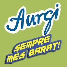 Logo y Claim en Catalán de Aurgi. Más información en www.aurgi.com