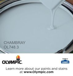 CHAMBRAY OL748.3 is a part of the blues collection by Olympic® Paint.