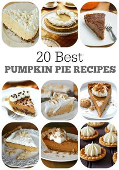 20 Best Pumpkin Pie Recipes : you'll find everything in this collection. from the classic pumpkin pie recipe to creamy versions mini meringued pecan pumpkin vegan crustless clean gluten free and more! Best Dessert Recipes, Fun Desserts, Fall Recipes, Holiday Recipes, Donut Recipes, Amazing Recipes, Christmas Recipes, Thanksgiving Recipes, Drink Recipes