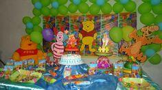 Tema: Winnie The Pooh y sus amigos!