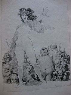 Lysistrata by Aristophanes, Fanfrolico Press (1927). Illustrator - Norman Lindsay