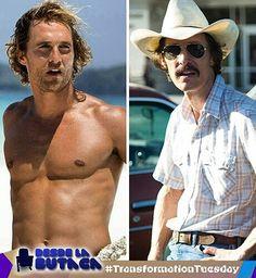 Hoy en nuestro #TransformationTuesday tenemos al actor Matthew McConaughey con su impresionante transformación para su personaje en  Dallas Buyers Club. Cual es tu películas favorita de Matthew?  #TFT #DLB #DesdeLaButaca #MatthewMcConaughey #DallasBuyersClub Lee más al respecto en http://ift.tt/1hWgTZH Lo mejor del Cine lo disfrutas #DesdeLaButaca Siguenos en redes sociales como @DesdeLaButacaVe #movie #cine #pelicula #cinema #news #trailer #video #desdelabutaca #dlb