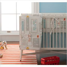 Dwell Studio Baby - perfect for a travel or world themed nursery #STYLESQUARED