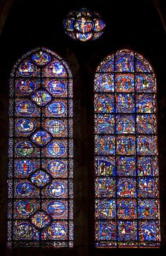 Chartres Cathedral Stained Glass HD | Recent Photos The Commons Getty Collection Galleries World Map App ...
