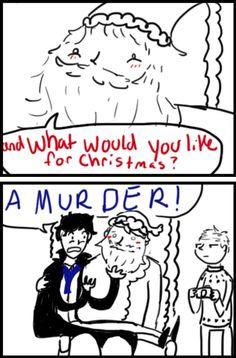 """Sherlock and Christmas. John """"Let's go Sherlock…"""""""