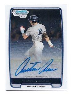 2012 Bowman Chrome Draft Prospects Autograph #BCA-AAU Austin Aune New York Yankees Baseball Card by Near Mint or better. $19.99