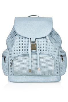 Perforated Backpack £36 Topshop