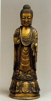 法隆寺献納宝物 如来立像 149号 東京国立博物館