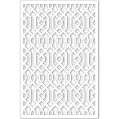 Acurio Latticeworks Azzaria 32 in. x 4 ft. White Vinyl Decorative Screen Panel at The Home Depot - Mobile Home Depot, Vinyl Dekor, Decorative Screen Panels, Do It Yourself Design, Arbors Trellis, Cement Walls, Azzaro, Indoor Outdoor, Outdoor Decor