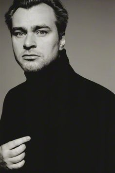 Christopher Nolan, director of the Batman trilogy, The Prestige, Inception, and Memento. Easily one of my favorites.
