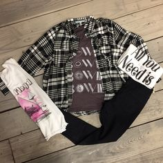 Everyone could use a flannel at this time of year! Shop in store and online! #shoplbvb #flannel
