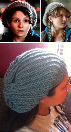 Free Knitting Pattern Zombie Killer Slouch Hat - Little Rock's Zombieland Hat - When I saw Zombieland, I was obsessed with Little Rock's slouch hat. Fortunately, so was Luciana Young who recreated the hat for all of us. Pattern includes two alternate decreases. Pictured project by Elle70