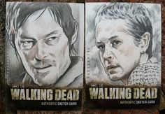 The Walking Dead Daryl and Carol by thestyleofnostyle.deviantart.com on @deviantART