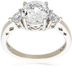 I had to obtain a CZ ring, to exchange for a real ring from my mom.