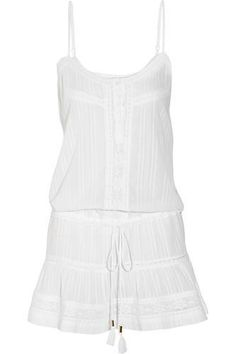 White cotton Slips on cotton Hand wash or dry clean Madewell, Cotton Slip, White Cotton, Zara, White Slip, White White, Cotton Dresses, Beachwear, Short Dresses