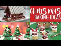 CHRISTMAS BAKING IDEAS - TOP Xmas Desserts for the Holidays | Elise Strachan | My Cupcake Addiction - YouTube