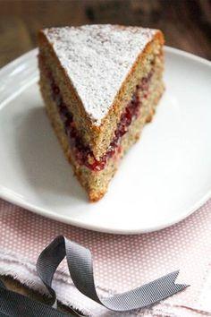torta di grano saraceno e mirtilli rossi <3
