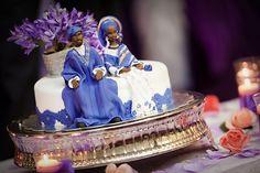 We <3 the detail on this Nigerian Wedding cake