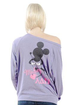 I'm in major need of this Mickey Mouse ADPi shirt! Perfect for if our chapter goes on a trip to Disneyland!