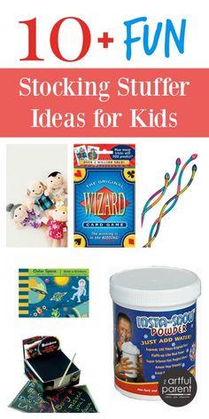 More than 10 Fun Stocking Stuffer Ideas for Kids