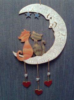 gatitos en luna