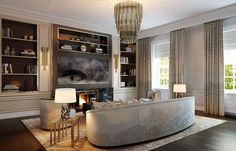 London : St. james   Martin Kemp Design