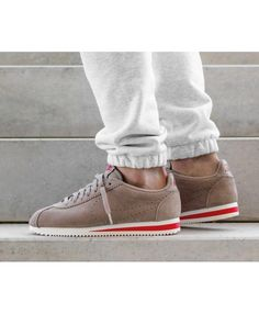 huge discount 23071 fad84 Nike Cortez Homme Sepia Stone Habanero Red