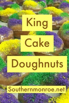 Check out this fun recipe What Is Mardi Gras, Vegetarian Benefits, Mardi Gras Food, Doughnut Cake, Celebrate Good Times, Pastry Recipes, Cookie Recipes, Cinnamon Bread, Sweet Pastries
