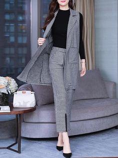 Stylish Work Outfits, Stylish Dresses, Classy Outfits, Casual Dresses, Muslim Fashion, Hijab Fashion, Korean Fashion, Fashion Dresses, Fashion Pants
