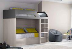 Habitación juvenil con litera Kairos