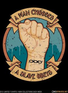 A man chooses....