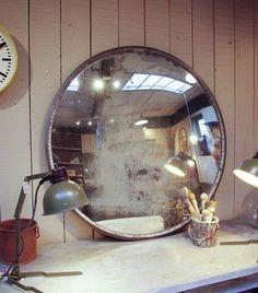 Miroir mercure bombé